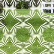Odhams Press Radial Decorative Window Film; 45'' H x 36'' W