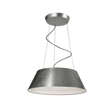 Philips Cielo 4-Light Drum Pendant; Silver