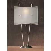 Anthony California Metal 25.5'' H Table Lamp with Novelty Shade