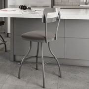Amisco Urban Style 30'' Swivel Bar Stool with Cushion