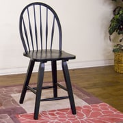 Sunny Designs 24'' Bar Stool; Black