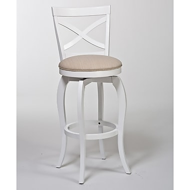 Hillsdale Ellendale 25.25'' Swivel Bar Stool with Cushion