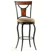 Hillsdale Pacifico 26'' Swivel Bar Stool with Cushion