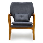 Ceets Madison Ave Arm Chair; Charcoal Grey