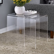 Fox Hill Trading Pure D cor 2 Piece Nesting Tables (Set of 2)