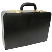 AmeriLeather Expandable Executive Attach  Case; Black