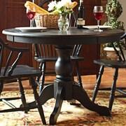Carolina Cottage Winslow Dining Table; Antique Black