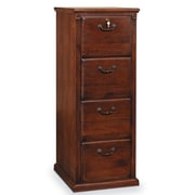 kathy ireland Home by Martin Furniture Huntington Oxford 4-Drawer Vertical File Cabinet; Burnish