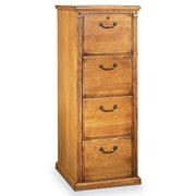 kathy ireland Home by Martin Furniture Huntington Oxford 4-Drawer Vertical File Cabinet; Wheat