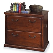 kathy ireland Home by Martin Furniture Huntington Oxford 2-Drawer Lateral File Cabinet; Burnish