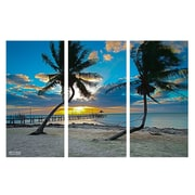 Ready2hangart 'Sun Set' by Bruce Bain 3 Piece Photographic Print on Wrapped Canvas Set