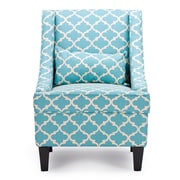 Wholesale Interiors Candace Arm Chair; Blue