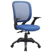 Modway Scope Mid-Back Task Chair; Blue