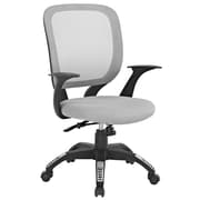 Modway Scope Mid-Back Task Chair; Gray