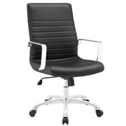Modway Finesse Mid-Back Task Chair; Black