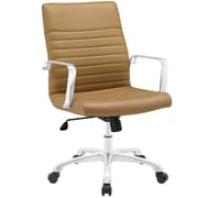 Modway Finesse Mid-Back Task Chair; Tan