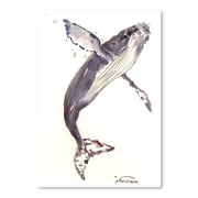 Americanflat Humpback Whale 21 Painting Print