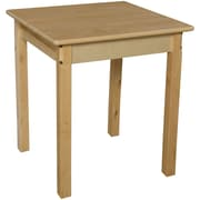 Wood Designs 24'' Square Classroom Table; 27'' H x 24'' W x 24'' D