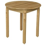 Wood Designs 30'' Round Activity Table; 27'' H x 30'' W x 30'' D