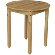 Wood Designs 30'' Round Activity Table; 30'' H x 30'' W x 30'' D