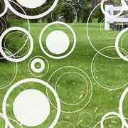 Odhams Press Retro Dots Decorative Window Film; 45'' H x 36'' W