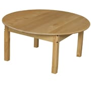 Wood Designs 36'' Round Activity Table; 15'' H x 36'' W x 36'' D