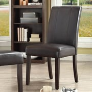 Chateau Imports Marx Side Chair (Set of 2); Espresso