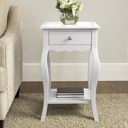 Altra End Table; White