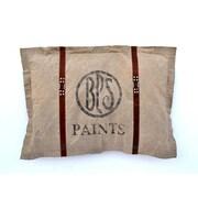 Decorative Leather Books, LLC BPS Paints Grain Sack Throw Pillow
