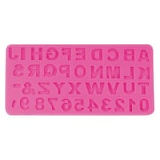 NY Cake Uppercase Alphabet and Number Mold