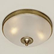 JVI Designs 3 Light Rope Flush Mount; Oil Rubbed Bronze