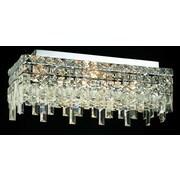 Elegant Lighting Maxim 4 Light Semi Flush Mount; 20'' / Royal Cut