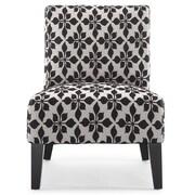 DHI Monaco Spades Slipper Chair; Black