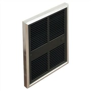 TPI Commercial 6,826 BTU Wall Insert Electric Fan Heater with Thermostat