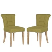 angelo:HOME Lexi Side Chair (Set of 2); Lime Green