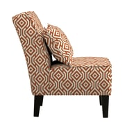 angelo:HOME Jules Slipper Chair; Orange