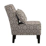 angelo:HOME Jules Slipper Chair; Brown