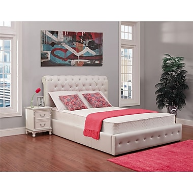 Signature Sleep Contour 8' Queen Mattress, White
