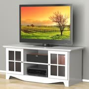 Pinnacle 56-inch TV Stand from Nexera - White
