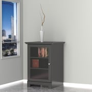 Pinnacle 1-Door Audio Tower from Nexera - Black
