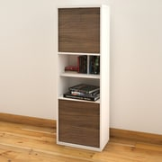 Liber-T 2-Door Bookcase from Nexera