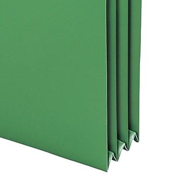 Smead® Poly File Pocket, Straight-Cut Tab, 3-1/2