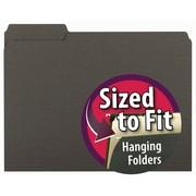 Smead® Interior File Folder, 1/3-Cut Tab, Letter Size, Green, 100/Box (10247)
