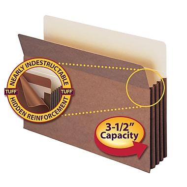 Smead® TUFF® Pocket File Pocket, Straight-Cut Tab, 3-1/2