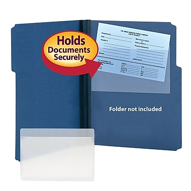 Smead® Self-Adhesive Poly Pocket, Document Size 9