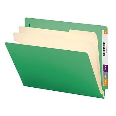 Smead® End Tab Classification File Folder, 2 Divider, 2
