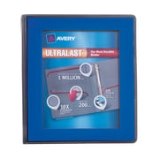 "Avery(R) Ultralast(TM) Binder with 1"" One Touch Slant Rings 79740, Blue"