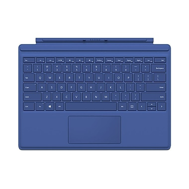 Microsoft Surface Pro 4 Type Cover, English, Blue