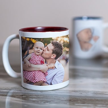 Photo Mug 11oz, Full Wrap, Custom Gift