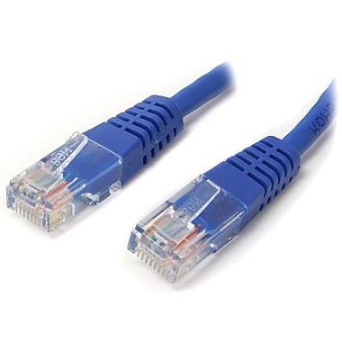 StarTech.com Cat 6 Molded RJ45 UTP Gigabit Cat6 Patch Cable, 6', Blue